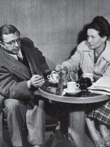 Jean Paul Sartre e Simone de Beauvoir