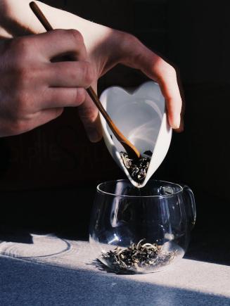 Foglie di tè cinese Bai Mao Hou, White Monkey